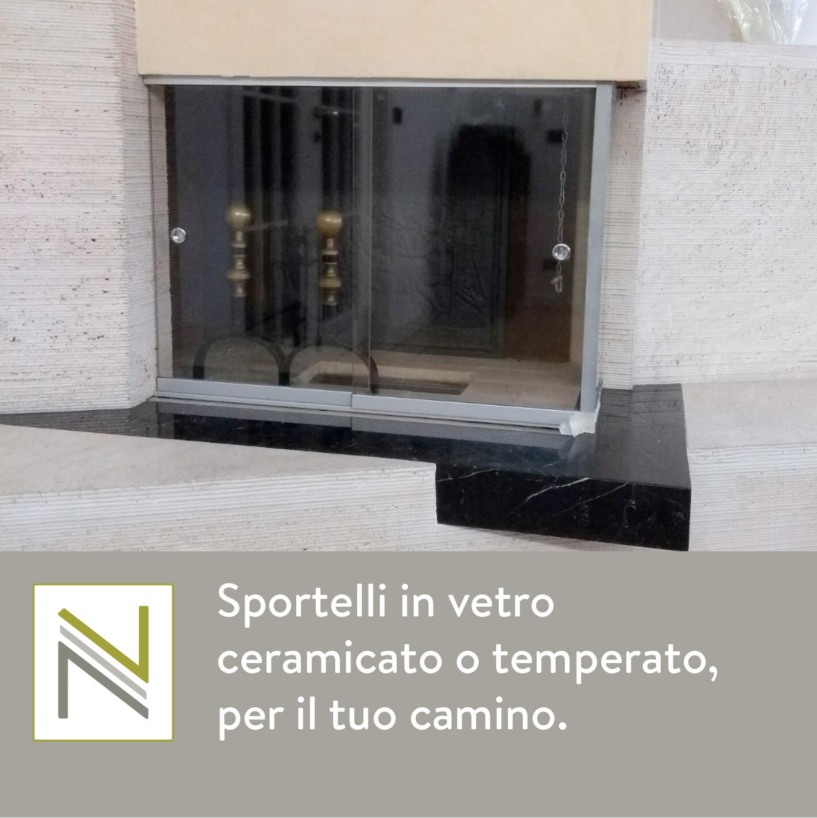 Vetreria Navacchia Sportelli In Vetro Ceramicato O Temperato Per Il
